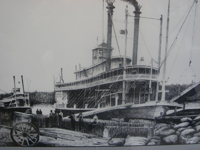 4. The Mississippi River has always been a valuable asset to Vicksburg; however, in the 1800's that asset was compromised thanks to river bends being littered with the remains of hundreds of riverboats – an incident that spurred Congress to pass the Steamboat Act.