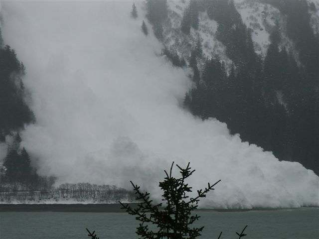 2) Avalanche in Juneau.