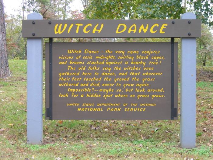 4. Witch Dance, Natchez Trace Parkway (milepost 233.2)