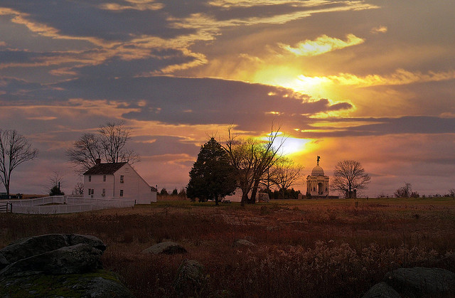 1. This amazing shot taken on Hummelbaugh Farm in Gettysburg will make you consider waking up earlier to see the sun rise.