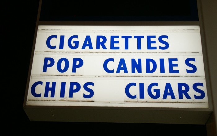 7) Oregon is  ranked #1 for selling cigarettes to kids.