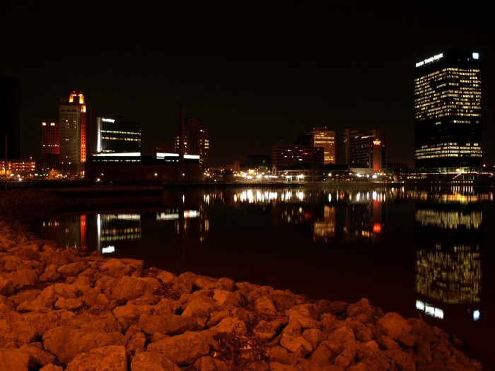 13. Downtown Toledo and the Maumee River