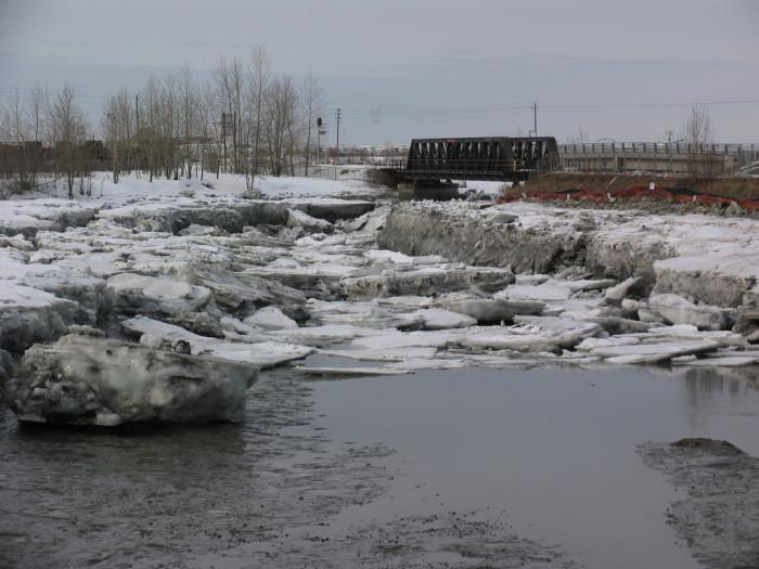1) Ship Creek in Anchorage