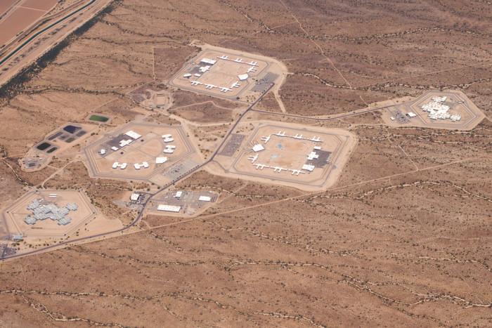 7. One of Arizona's numerous prisons