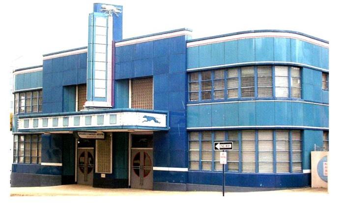 4. Former Greyhound Bus Terminal, Jackson