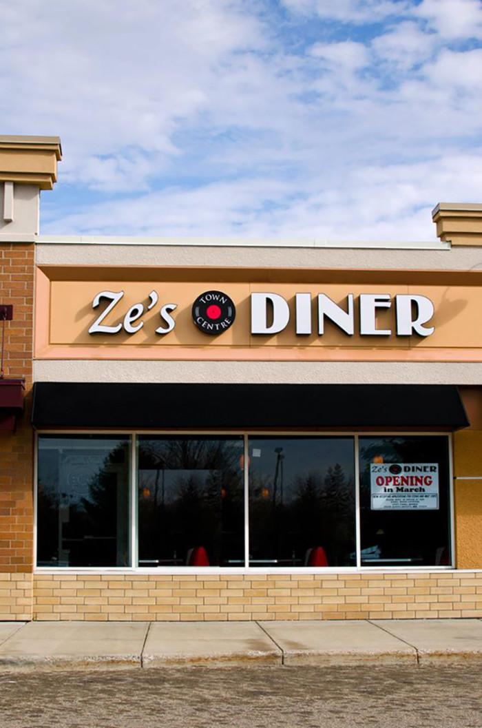 8. Ze's Diner, Eagan