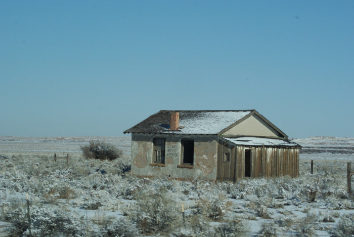 6. It's just a little, old house that might look kind of spooky. That's all it is, right?