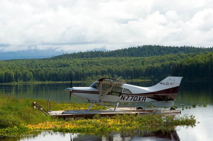 3) Did you know in Alaska you can have pizza delivered by plane out to the bush?! Okay, maybe it's more like a cargo run where you can order a pizza a week ahead of time, but still... that's delivery!