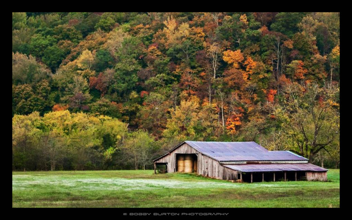 26. Autumn in Boxley Valley by Bobby Burton