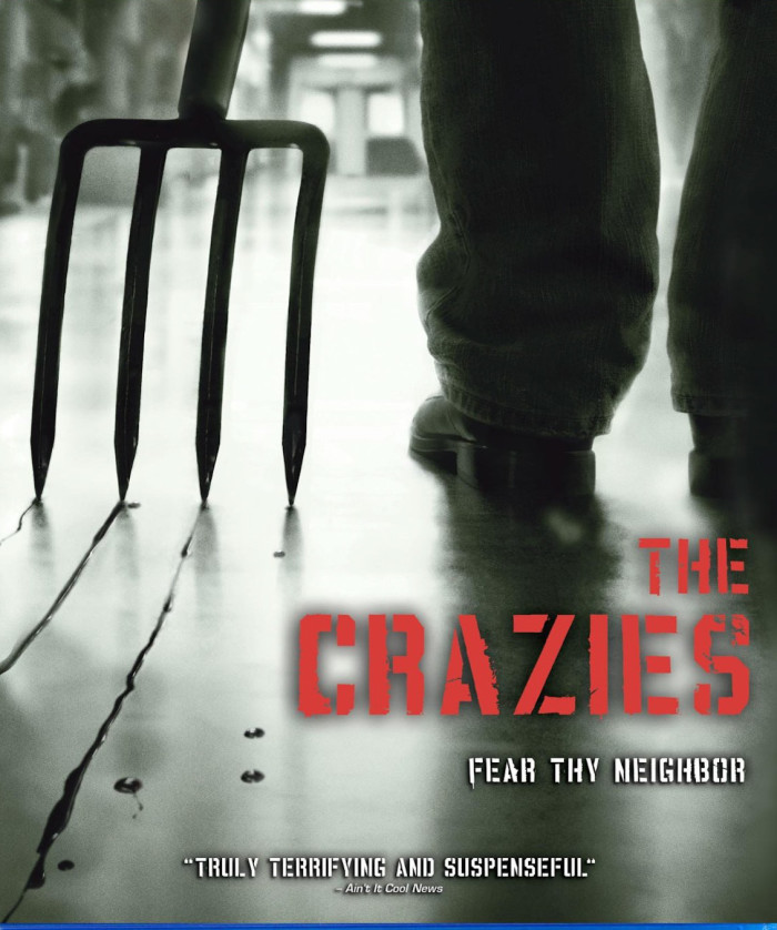 4. And if you've ever seen The Crazies, you'll forever be afraid of pitchforks and other farm equipment.