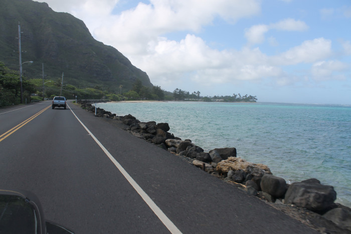 """5) People from Hawaii don't use traditional words when giving directions – we use """"mauka,"""" or toward the mountains and """"makai,"""" meaning towards the sea."""