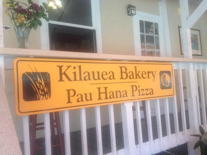 5) Kilauea Bakery & Pau Hana Pizza, Kilauea