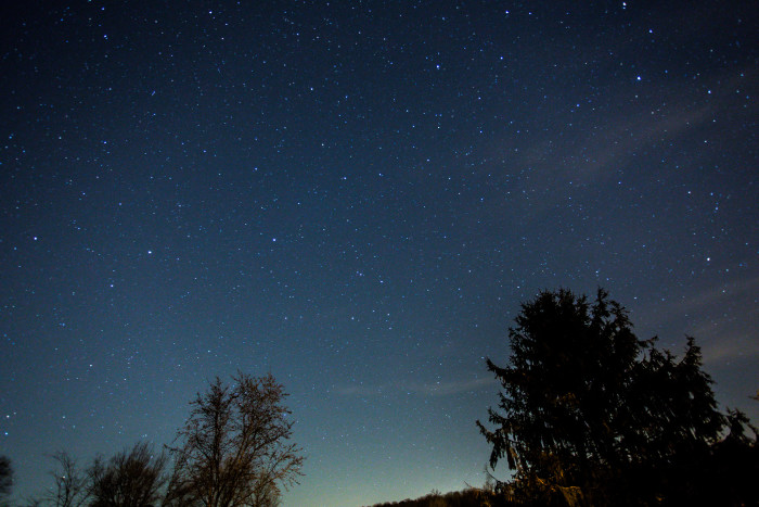 5) That southern night sky.