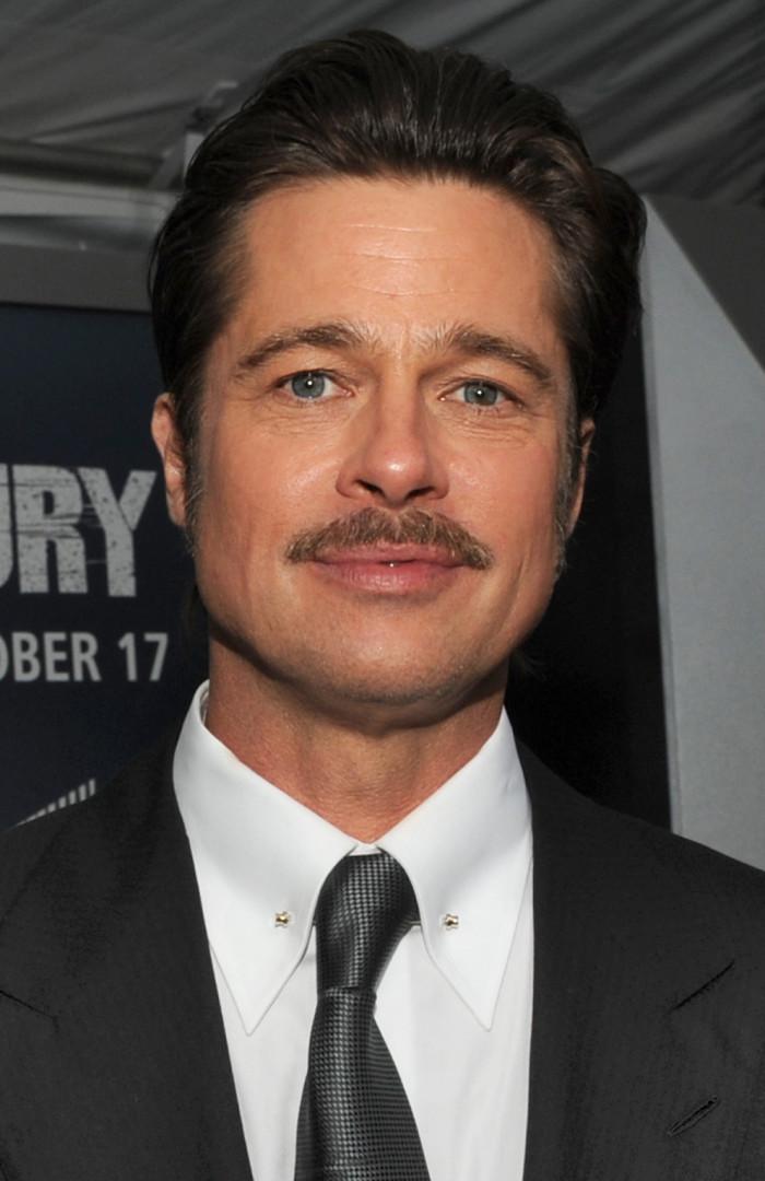 5. Brad Pitt, born Shawnee Oklahoma, but raised in Springfield