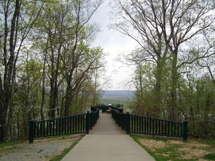 5. Trail of Tears State Park, southeast Missouri