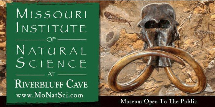 3.	Missouri Institute of Natural Science at Riverbluff Cave, Springfield