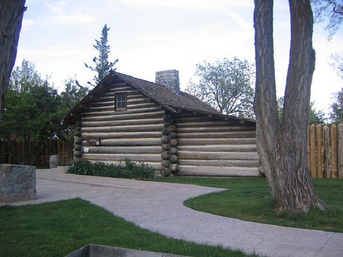 10. Mormon Station, Nevada's first permanent white settlement, was founded in 1815. This area is now Genoa.