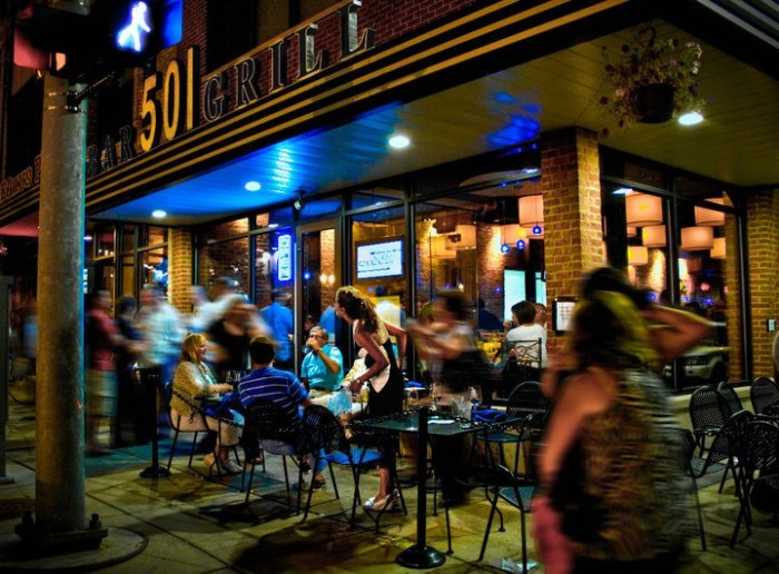 11) 501 Bar and Grill, Flint