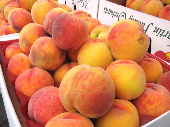 2. You wouldn't have a surplus of peaches. Oh, sure you would have some, but the prices would be outrageous because there wouldn't be as many as there are now.