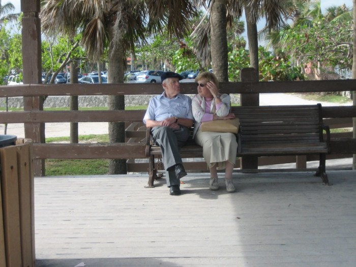 13. When you grow old together, you'll already be in Florida!