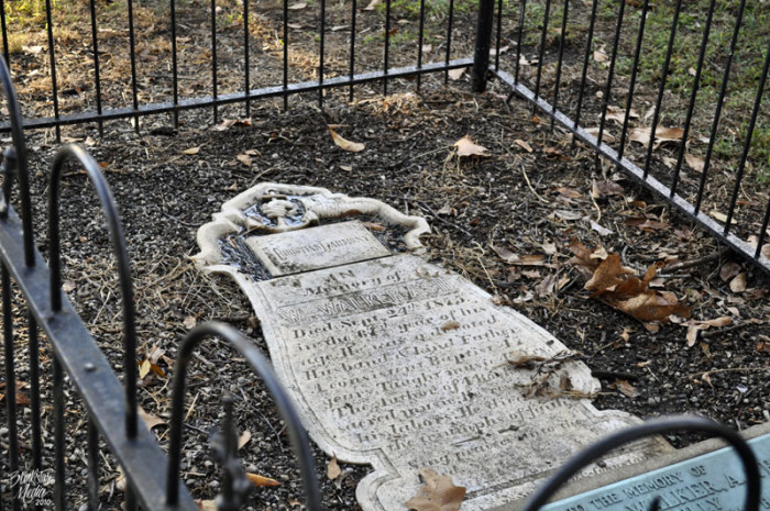 4. We have many old cemeteries.