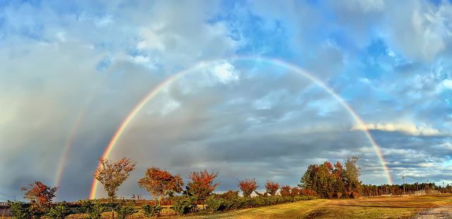 """7. """"Full-on Rainbow"""""""