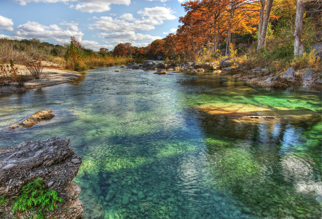12 of the most beautiful rivers in texas for Rio vista fishing spots