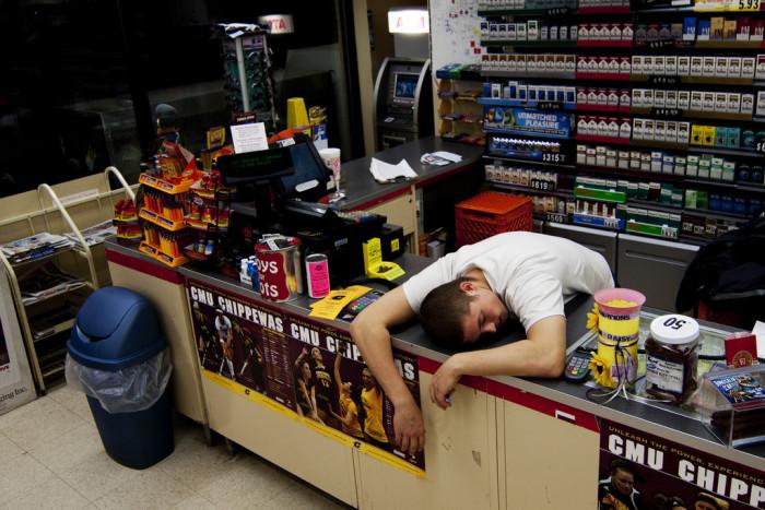 14) Fall back... I get an extra hour of sleep