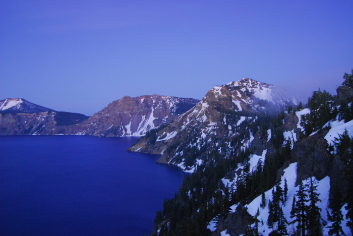 1) Experience Crater Lake.