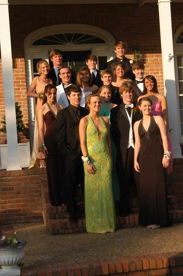 5. Part of prom meant meeting at a friend's house so the parents could take pictures…lots and lots of pictures.