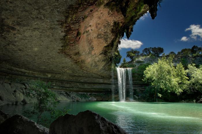 4) Hamilton Pool (Dripping Springs)