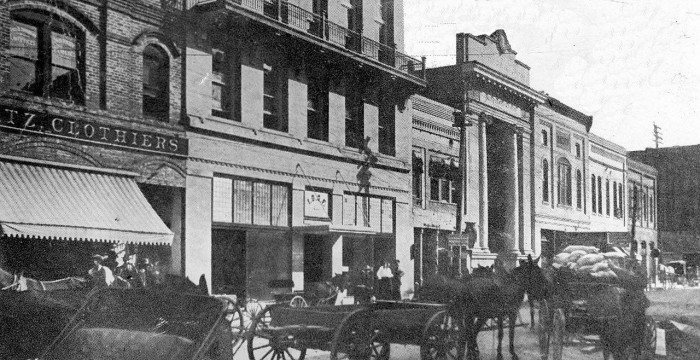 5. Looks like Hattiesburg's Front Street was always the place to be – even in 1900.