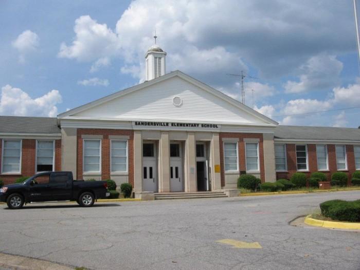 6. Sandersville Elementary School in Sandersville, Washington County