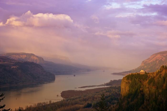 7) Columbia River