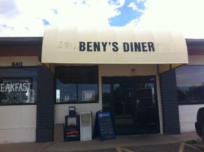 10. Beny's Diner (Cortez)