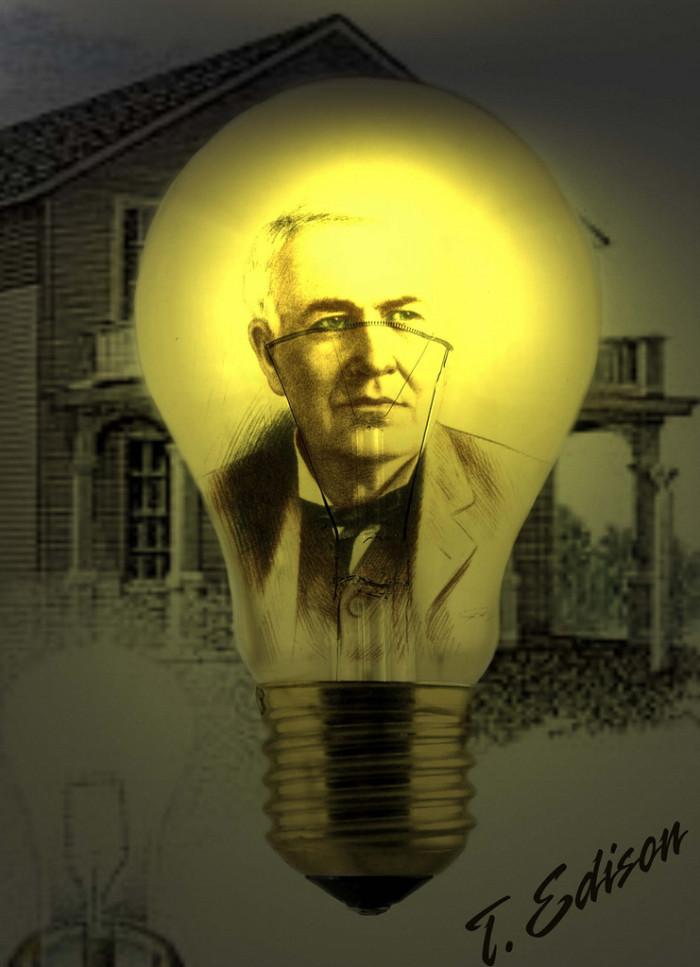 10. Thomas Edison