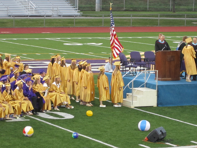 4. Your graduating class was so small that you were shocked if you noticed a person you didn't recognize at graduation.