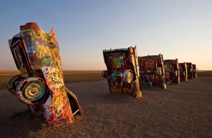 8) Cadillac Ranch (Amarillo)
