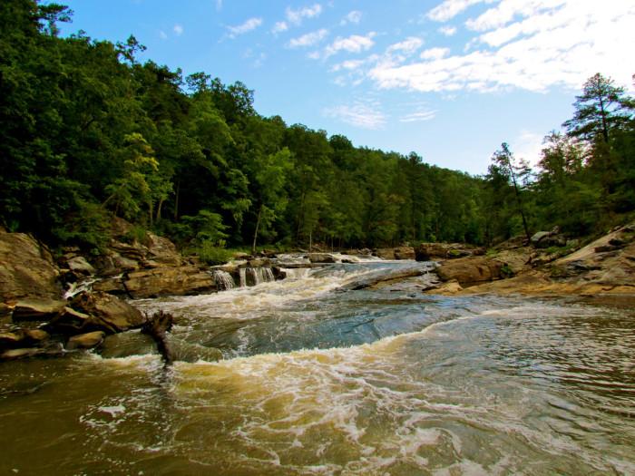 6. Sweetwater Creek State Park - 1750 Mt Vernon Rd, Lithia Springs, GA 30122