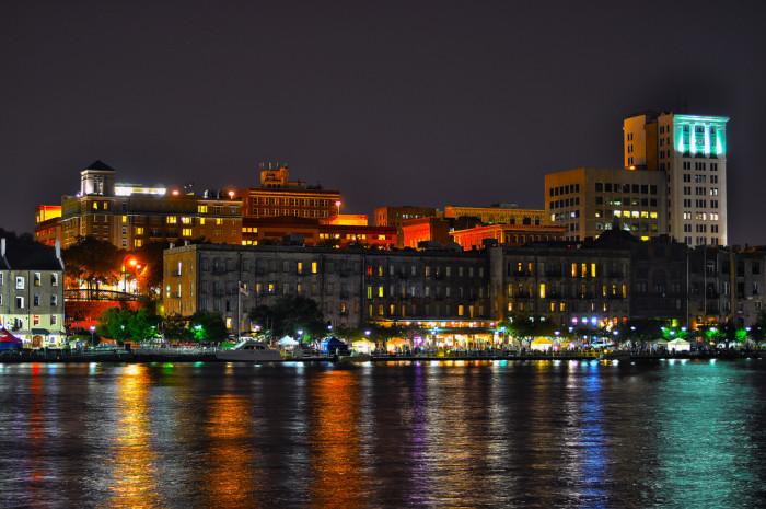 5. Savannah at night