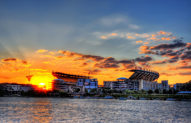 9. Heinz Field has never looked so glorious... I'm betting the Steelers won this day.