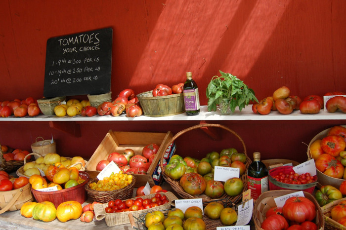 7. Some of the country's best produce