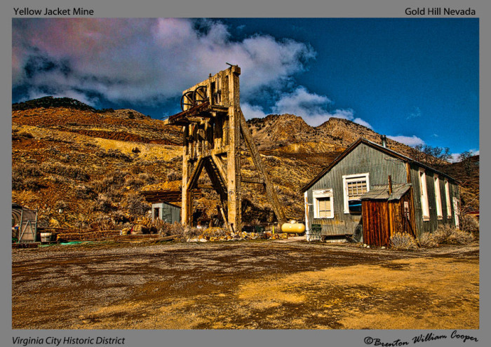 8. Yellow Jacket Mine - Gold Hill