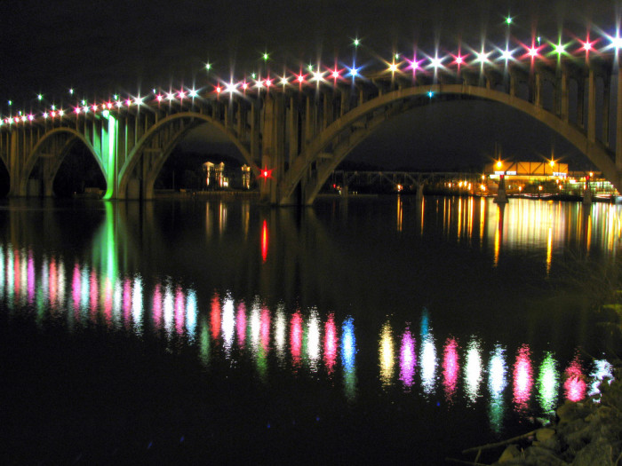 6) Brent Moore caught this beautiful shot of the Henley Street Bridge in Knoxville.