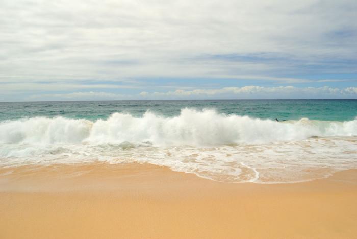 6) Sandy Beach
