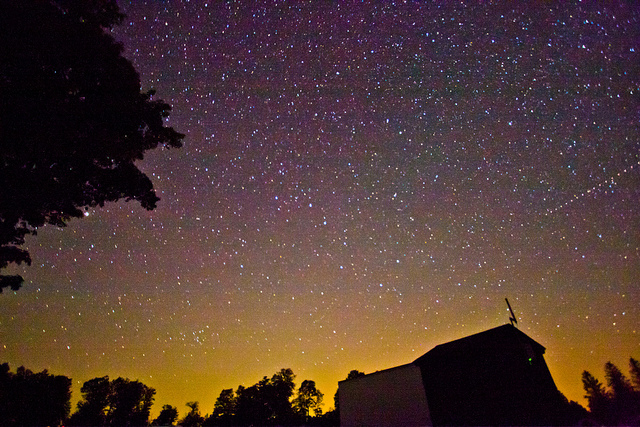 1. The night sky is incredible over Summit.