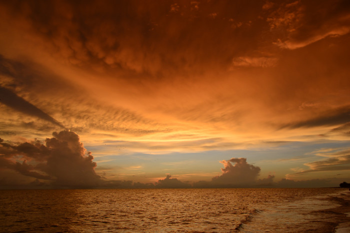 6. This Florida sunset that was perfect in pastels