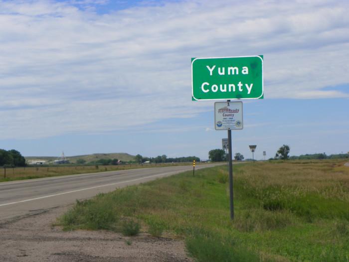 3. Yuma County