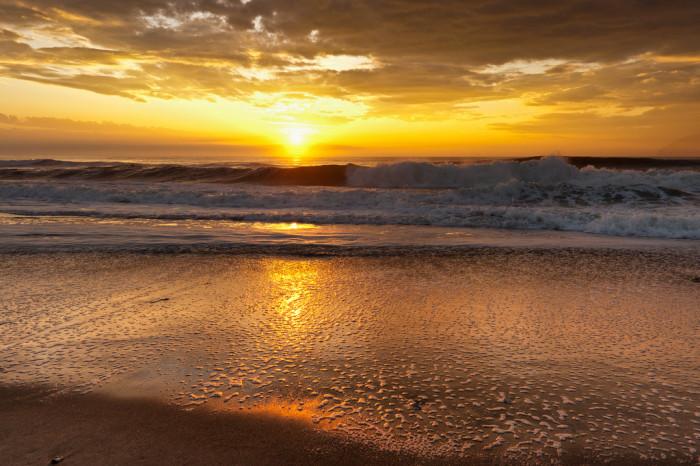 11. Sand, surf, and sun in Ocean Grove.