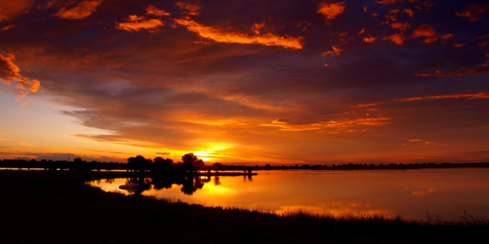 4. This Longmont sunrise cannot be real... can it?